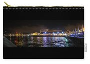 Tel Aviv Port At Night Carry-all Pouch