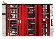 Telephone Boxes In London Carry-all Pouch