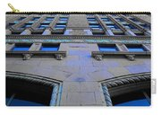 Telephone Building With Indigo Reflections Carry-all Pouch