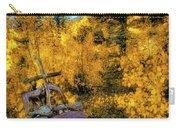 Telluride Spirituality - Colorado - Autumn Aspens Carry-all Pouch