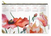 Template For Calendar 2013 Carry-all Pouch