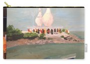 Temple In Sea Carry-all Pouch