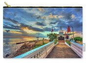 Temple In The Sea Carry-all Pouch
