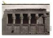 Temple Of Hathor, Early 20th Century Carry-all Pouch