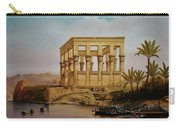 Temple Of Isis On The Nile River Carry-all Pouch