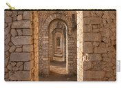Temple Of Jupiter Anxur Carry-all Pouch by Yair Karelic