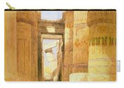 Temple Of Karnak  Carry-all Pouch