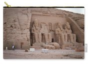 Temple Of Rameses II Carry-all Pouch