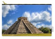Temple Of The Feathered Serpent Carry-all Pouch