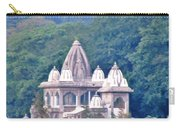 Temple In The Distance - Rishikesh India Carry-all Pouch