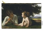 Temptation By William-adolphe Bouguereau Carry-all Pouch