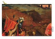 Temptation Of Saint Anthony, Right Wing Carry-all Pouch