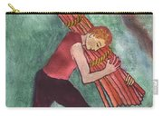 Ten Of Wands Illustrated Carry-all Pouch
