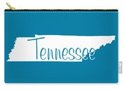 Tennessee In White Carry-all Pouch