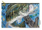 Tennessee River Largemouth Bass Carry-all Pouch