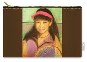 Tennis Player, 8x10, Pastel, '07 Carry-all Pouch