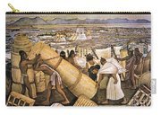 Tenochtitlan (mexico City) Carry-all Pouch by Granger