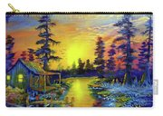 Tequila Sunrise In The Swamp Carry-all Pouch