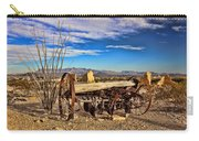 Terlingua Ghost Town 2 Carry-all Pouch