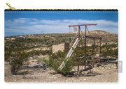 Terlingua Ghost Town #5 Carry-all Pouch
