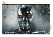 Terminator Oil Pastel Sketch Carry-all Pouch