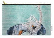 Terri's Heron Carry-all Pouch