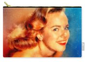 Terry Moore, Vintage Hollywood Actress Carry-all Pouch