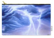 Tesla Carry-all Pouch by James Christopher Hill