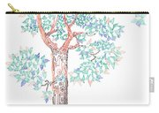 Tesselated Tree Carry-all Pouch