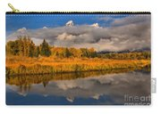 Teton Fall Foliage And Fog Carry-all Pouch