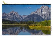 Teton Mountains Reflection Carry-all Pouch