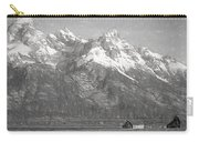 Teton Range Charcoal Sketch Carry-all Pouch