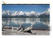 Teton Range Reflections Carry-all Pouch