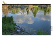Teton Reflection In Schwabacher Landing Carry-all Pouch