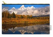 Teton Snow Cap Reflections Carry-all Pouch