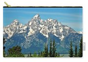 Tetons Across The Valley Carry-all Pouch