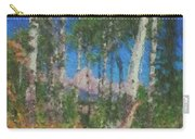 Tetons And Aspens Carry-all Pouch