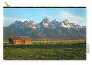 Tetons And Cabin Carry-all Pouch