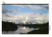 Tetons At Dawn Carry-all Pouch