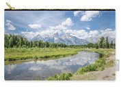 Tetons At Schwabacher Landing Carry-all Pouch