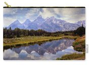 Tetons At The Landing 1 Carry-all Pouch