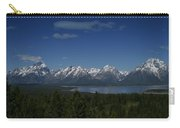 Tetons In Blue Carry-all Pouch