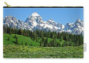 Tetons In Spring Carry-all Pouch