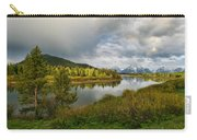 Tetons In The Distance Carry-all Pouch