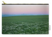 Tetons With Daisies Carry-all Pouch