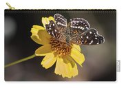 Texan Crescent Butterfly On Marigold-img_1348-2016 Carry-all Pouch