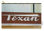 Texan Movie Theater Sign Carry-all Pouch