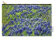 Texas Bluebonnets 004 Carry-all Pouch