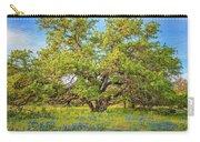 Texas Bluebonnets Under A Giant Oak Tree Carry-all Pouch