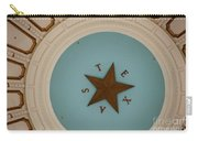 Texas Capitol Dome Lone Star In Austin, Texas, Usa Carry-all Pouch